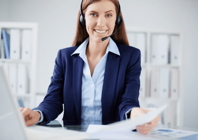 Servicegerichte receptionist